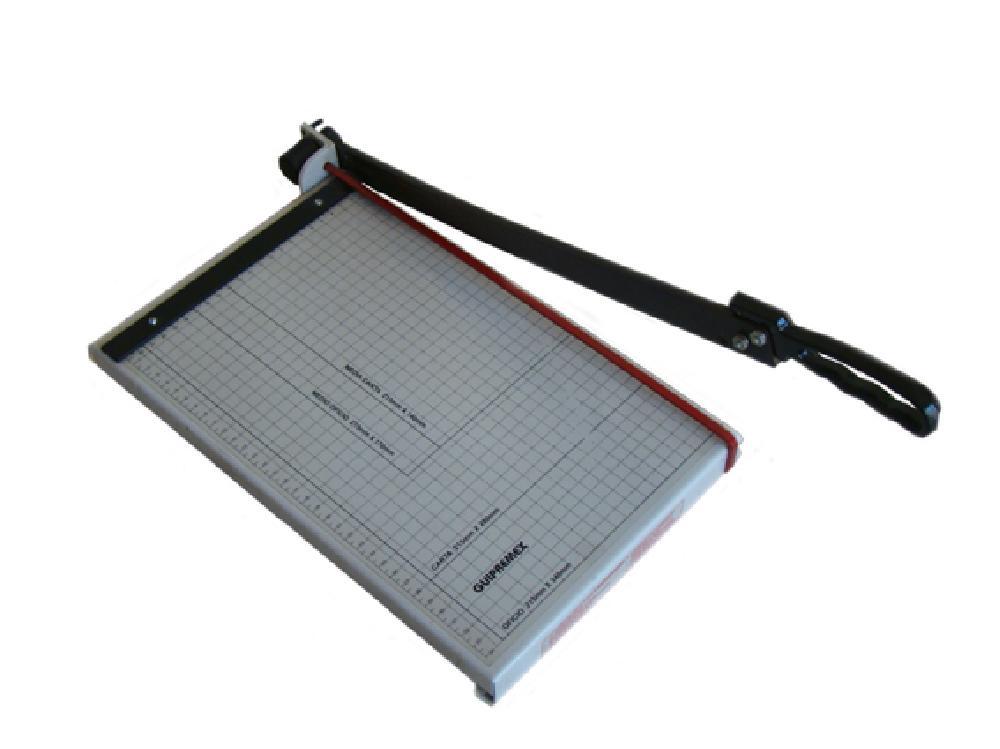 Cizalla para uso de oficina guillotina for Guillotina oficina